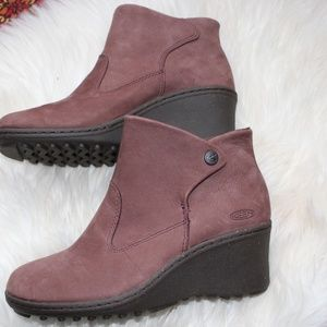 LN! KEEN Brown leather ankle boots